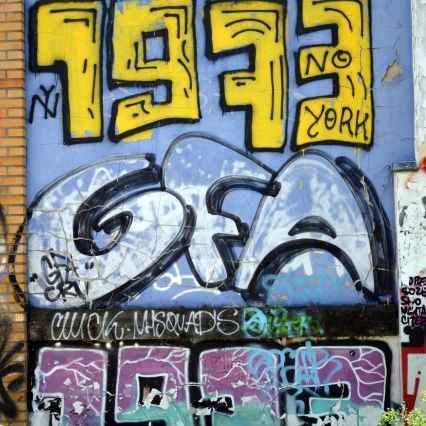 Tribute to early New York graffiti scene