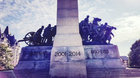 National War Memorial - The Response