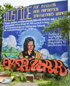 """Justice for Missing and Murdered Indigenous Women"" - Fanny Aisha, Guko and Monk-E"