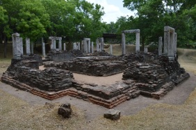 All that's left of this temple