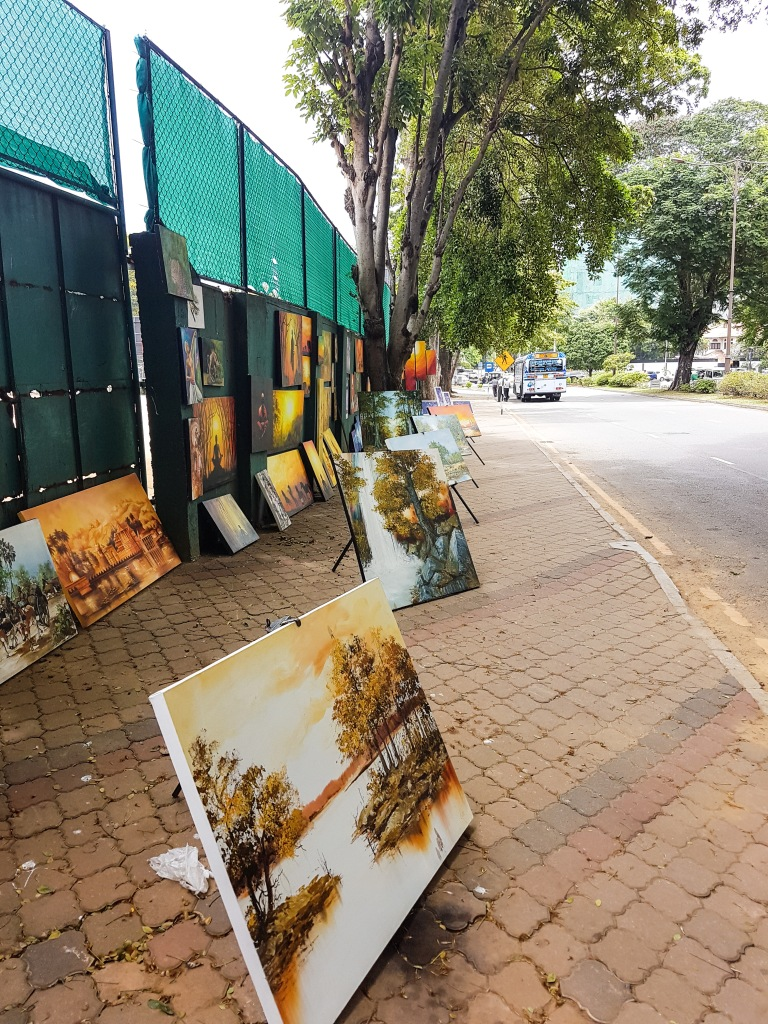 Nelum Pokuna Art Street